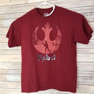 Star Wars Rebel Alliance Symbol Men's Size XL